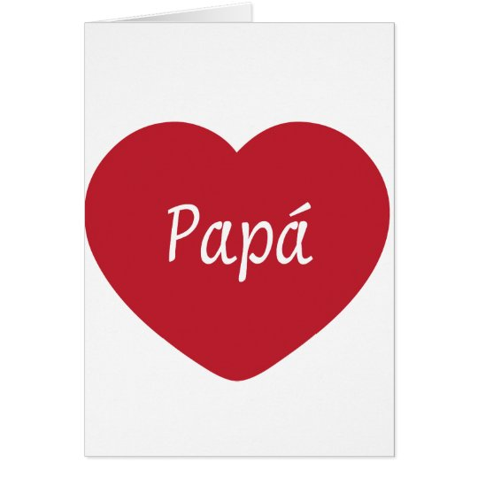 I Love You, Dad Card