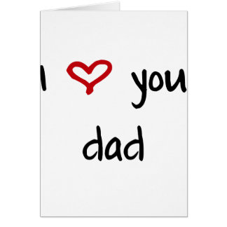 I Love You, Dad Cards