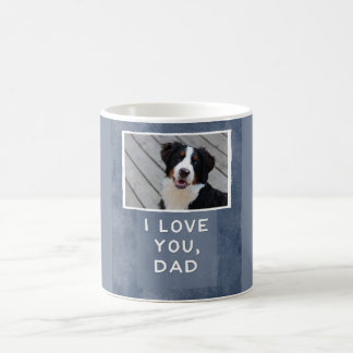 I Love You, Dad Custom Dog Photo Mug