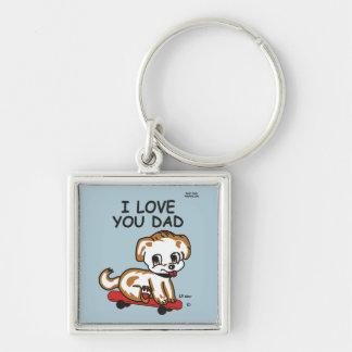 I Love You Dad Lil Max Keychain