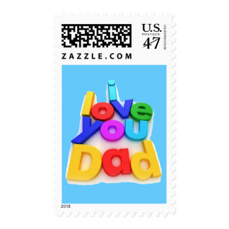 I love you Dad - Postage