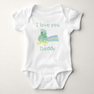 I Love You Daddy Baby Bodysuit