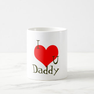 """I love you daddy"" Father's Day Mug"