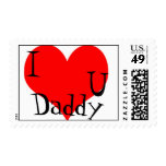 """""""I love you Daddy"""" Postage"""