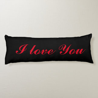 I love you Deluxe Body Pillow