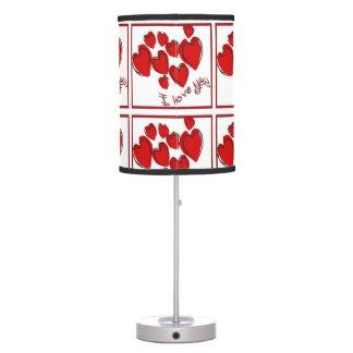 I Love You Desk Lamp