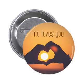 I love you digital photography art wedding gift button