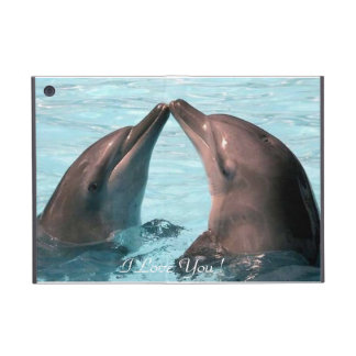 I Love You ! Dolphins, Powis iCase iPad Mini Case