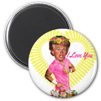 i love you donald trump magnet