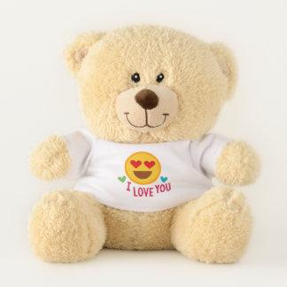 I Love You Emoji Teddy Bear