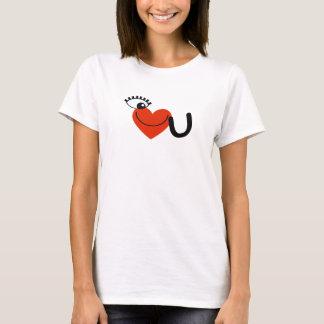 I Love You - Eye Love U T-Shirt