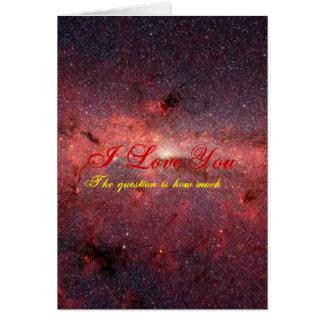"""I love you"" -Fallen Angel (Fixed) Greeting Card"