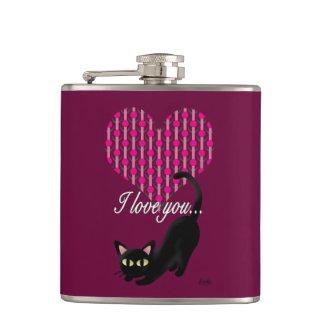I love you flask
