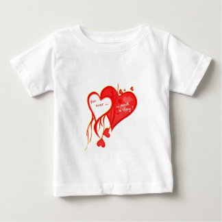 I LOVE YOU FOR EVER AND A DAY HEART BABY T-Shirt