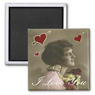 I Love You Forever 2 Inch Square Magnet