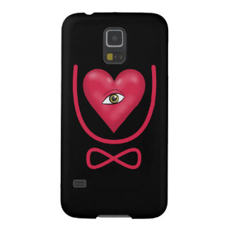 I love you forever Eye heart U eternity Case For Galaxy S5