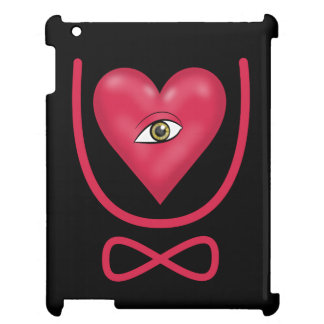 I love you forever Eye heart U eternity Case For The iPad