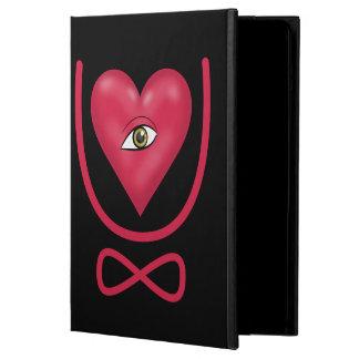 I love you forever Eye heart U eternity Cover For iPad Air