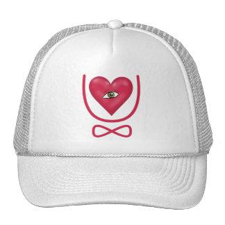 I love you forever Eye heart U eternity Trucker Hat