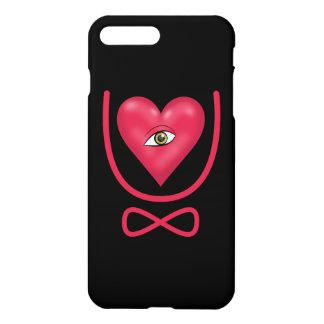 I love you forever Eye heart U eternity iPhone 7 Plus Case