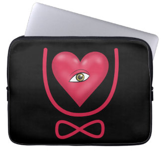 I love you forever Eye heart U eternity Laptop Computer Sleeves