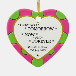 I love You Forever Ornament