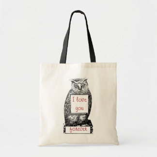 I love you, forever tote bag