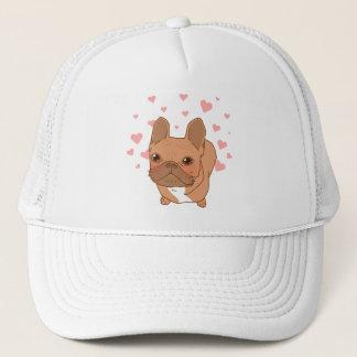 I Love You Frenchie Trucker Hat