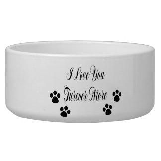 I Love You Furever More Bowl