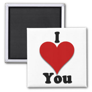 I Love You Gifts and Apparel Magnet