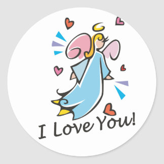 I Love You Gifts Sticker