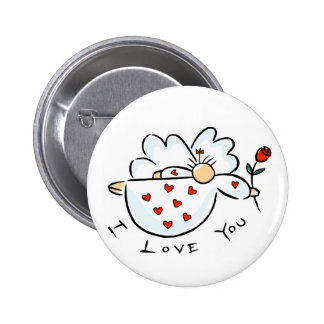 I Love You Giftware Button