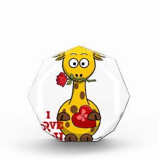i love you giraffe award