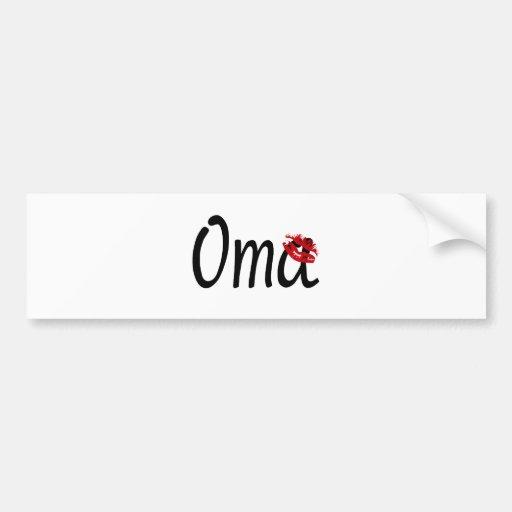 I Love You, Grandma Bumper Sticker