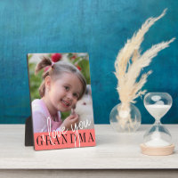 I Love You Grandma Custom Photo