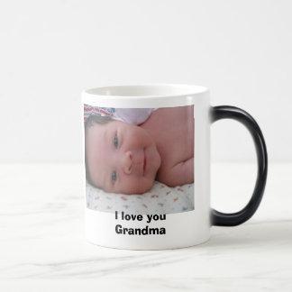 I love you Grandma Magic Mug