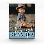 I Love You Grandpa Custom Photo