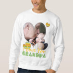 I love you grandpa photo t-shirt