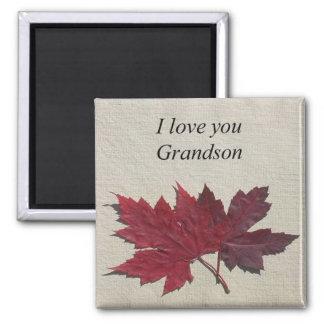 I LOVE YOU GRANDSON MAGNET