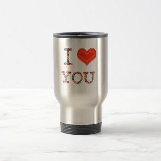 I LOVE YOU :  Great Positive SCRIPT    lowprice gi Coffee Mugs