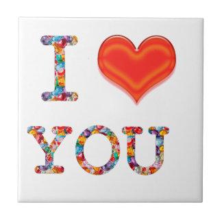 I LOVE YOU :  Great Positive SCRIPT    lowprice gi Tile