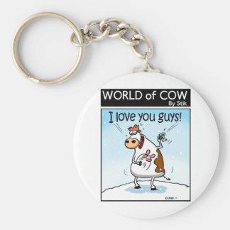 I LOVE you GUYS! Keychain