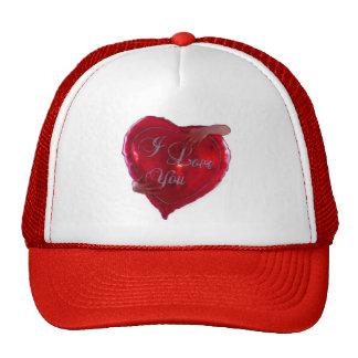 I Love You Mesh Hats
