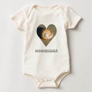 I Love You Heart Baby Bodysuit