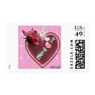 I Love You Heart by: K♥KraftZ♥ Stamps