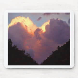 I Love You, Heart Cloud Mouse Pad