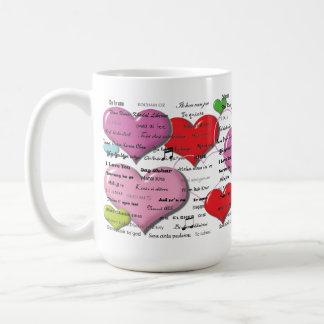 I Love You - Heart Colorfull Mugs