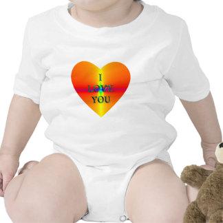 """I Love You"" heart Shirt"