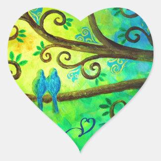 I Love You Hearts by Jan Marvin Heart Sticker