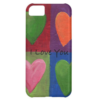 I love You  Hearts iPhone 5C Cover